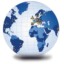 Red exportación distribución