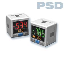 Vacuostato con visualización en tres colores PSD COVAL
